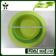 eco friendly reusable plate and bowl